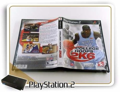 College Hoops Ncaa 2k6 Original Playstation 2 PS2 - comprar online