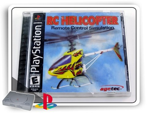 Rc Helicopter Original Playstation 1 Ps1