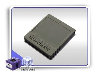 Memory Card Original Gamecube Cinza 59 Blocos 4mb