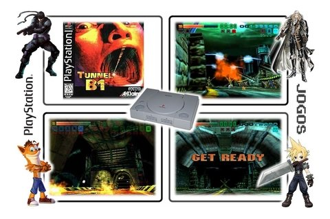 Tunnel B1 Original Playstation 1 Ps1 - loja online
