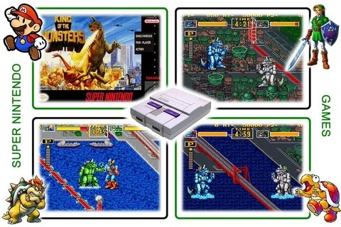 King Of Monsters Original Super Nintendo Snes - Radugui Store