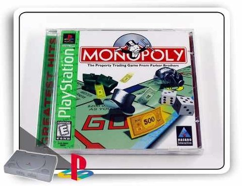 Monopoly Playstation 1 Original PS1