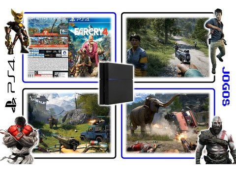 Farcry 4 Original Ps4 Playstation 4 - Mídia Física - Radugui Store