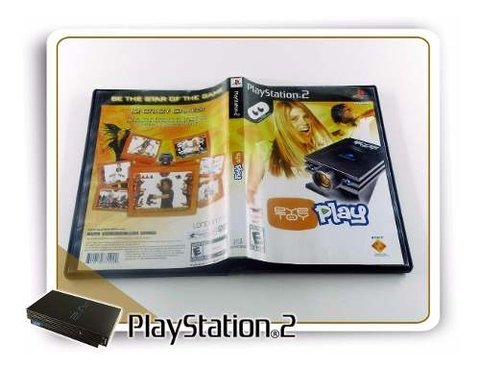 Eye Toy Play Original Playstation 2 PS2 - comprar online