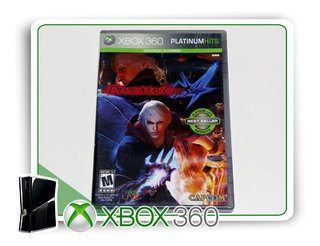 Devil May Cry 4 Original Xbox 360 - Mídia Física