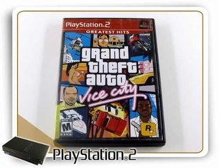 Grand Theft Auto Vice City Original Playstation 2 PS2