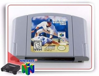 All-star Baseball 2000 Nintendo 64 Original N64