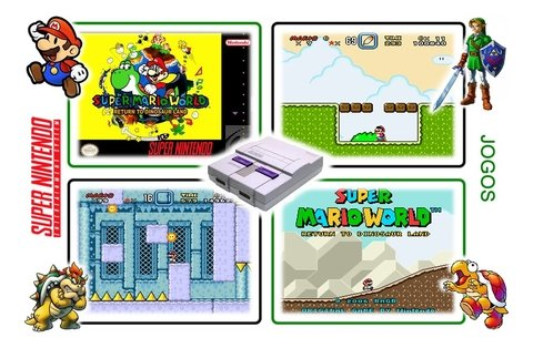 Imagem do Super Mario World Super Nintendo Snes - Novo Com Save