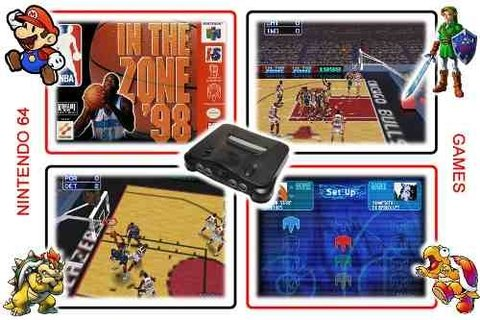 Nba In The Zone 98 Original N64 Nintendo 64 - Radugui Store