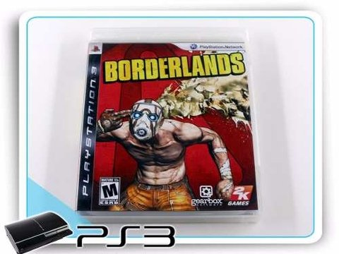 Borderlands Original Playstation 3 PS3
