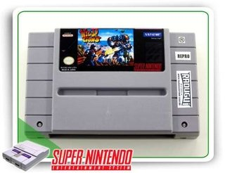 Wild Guns Original Snes Super Nintendo - Repro
