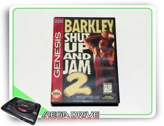 Barkley Shut Up And Jam 2 Original Sega Mega Drive - Genesis