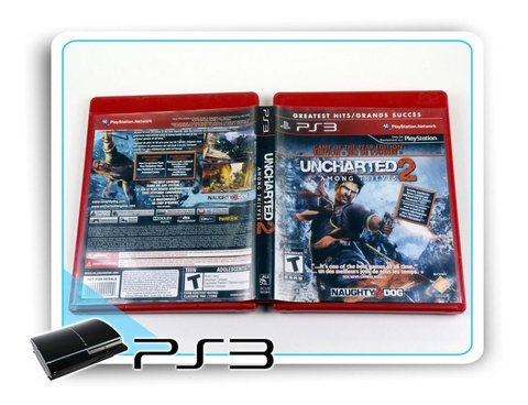 Uncharted 2 Among Thieves Original Playstation 3 Ps3 na internet