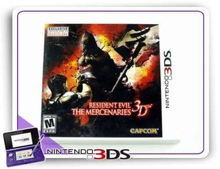 Resident Evil The Mercenaries 3d Original Nintendo 3ds