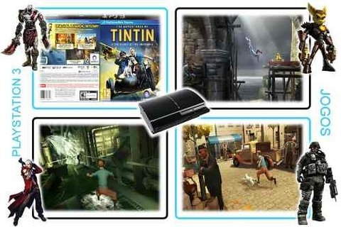 The Adventures Of Tintin Original Playstation 3 PS3 - Radugui Store
