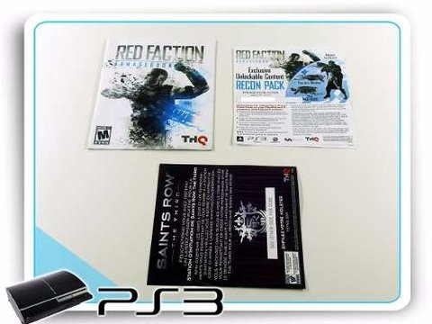 Red Faction Armageddon Original Playstation 3 PS3 - Radugui Store