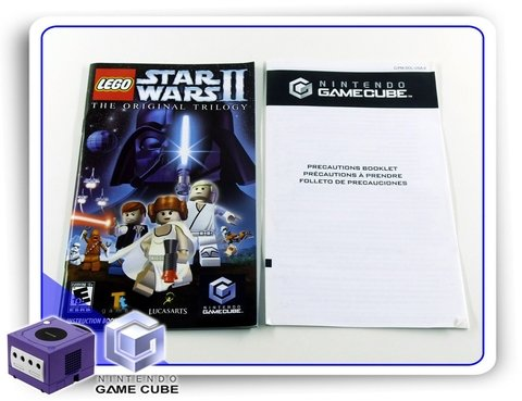 Lego Star Wars 2 The Original Trilogy Gamecube Original - Radugui Store