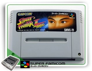 Street Fighter 2 Turbo Original Sfc Super Famicom