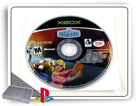 Celebrity Death Match Original Xbox Clássico