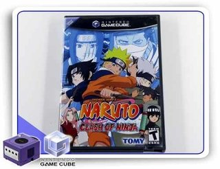 Naruto Clash Of Ninja Original Nintendo Gamecube