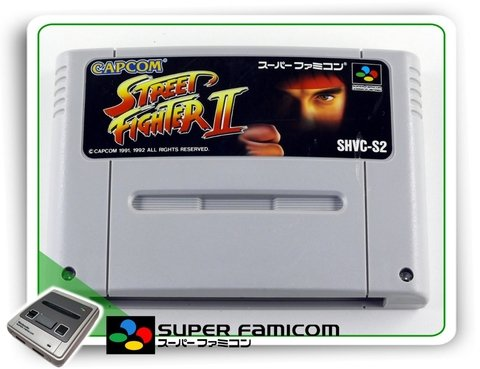 Street Fighter 2 Original Sfc Super Famicom