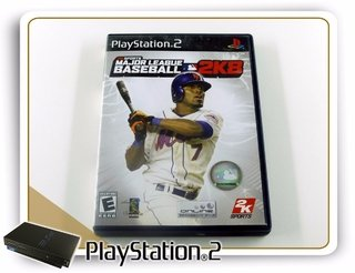 Major League Baseball 2k8 Original Playstation 2 PS2