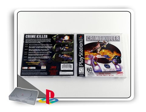 Crime Killer Original Playstation 1 Ps1 na internet
