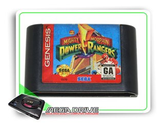 Mighty Morphin Power Rangers Original Sega Mega Drive