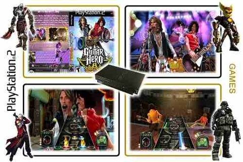 Guitar Hero Aerosmith Original Playstation 2 PS2 - Radugui Store