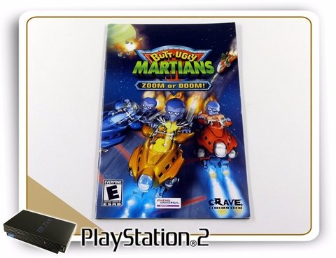 Manual Butt-uggly Martians Zoom Or Doom Original PS2