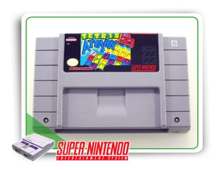 Tetris Attack Original Super Nintendo Snes