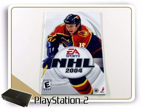 Manual Nhl 2004 Original Playstation 2 PS2