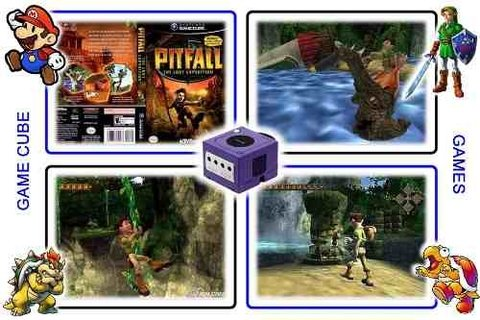 Imagem do Pitfall The Lost Expedition Original Gamecube