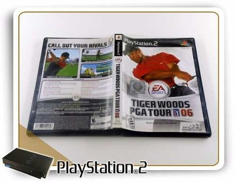 Tiger Woods Pga Tour 06 Original Playstation 2 PS2 - comprar online