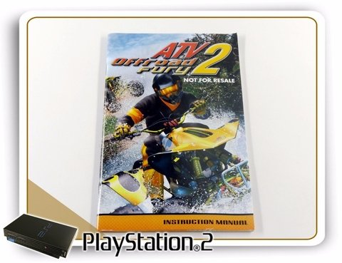 Encarte E Manual Atv Off Road Fury 2 Original Playstation 2 - comprar online