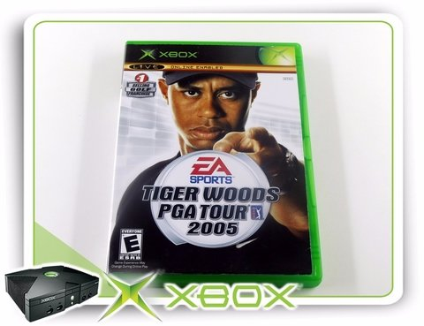 Tiger Woods Pga Tour 2005 Original Xbox Clássico Ntsc