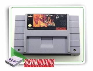 The Lion King Original Super Nintendo Snes