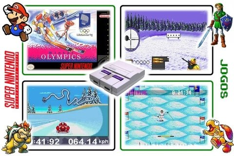 Winter Olympic Games Original Super Nintendo Snes - Radugui Store
