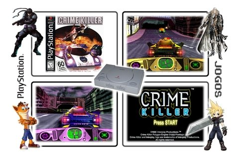Crime Killer Original Playstation 1 Ps1 - loja online
