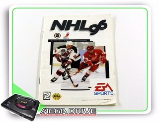 Manual Nhl 06 Original Mega Drive / Genesis