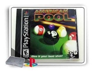 American Pool Original Playstation 1 Ps1