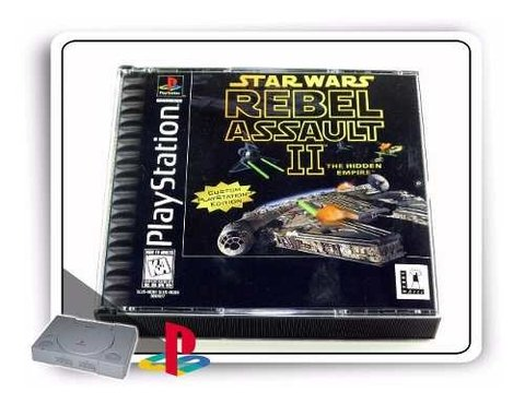 Star Wars Rebel Assault 2 Original Playstation 1 PS1