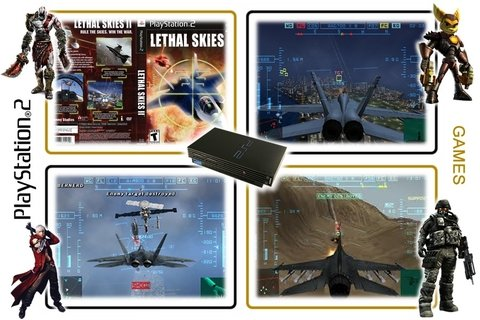 Lethal Skies 2 Original Playstation 2 Ps2 - comprar online