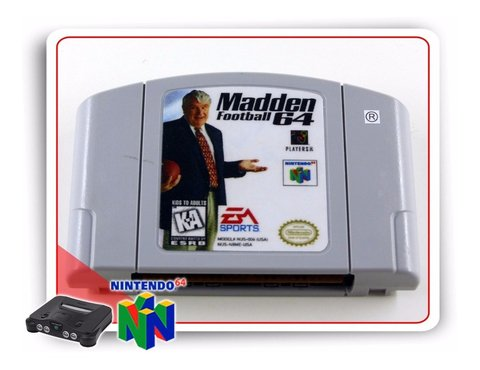 Madden Football 64 Original Nintendo 64 N64