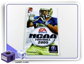 Manual Ncaa Football 2005 Original Nintendo Gamecube