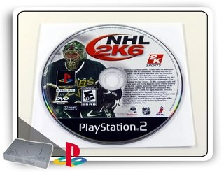Nhl 2k6 Original Playstation 2 Ps2