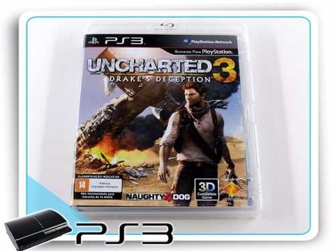 Uncharted 3 Drakes Deception Original Playstation 3 PS3
