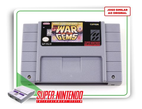 Marvel Super Heroes War Of The Gems Super Nintendo - Novo