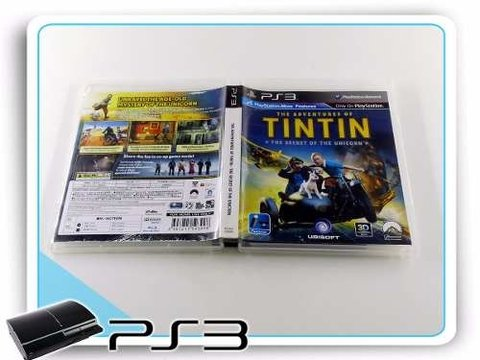 The Adventures Of Tintin Original Playstation 3 PS3 na internet