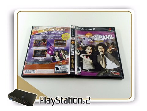 The Naked Brothers Band Original Playstation 2 PS2 - comprar online